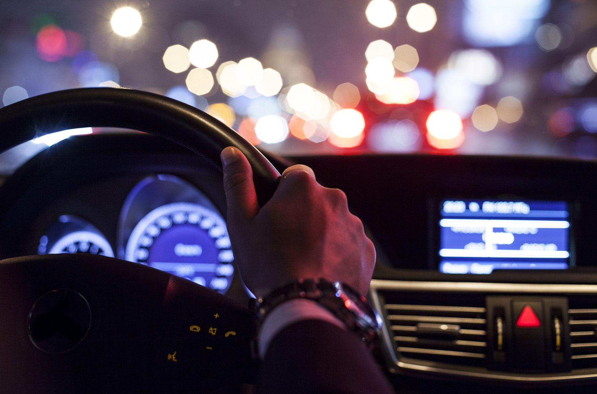 Dashboard by night